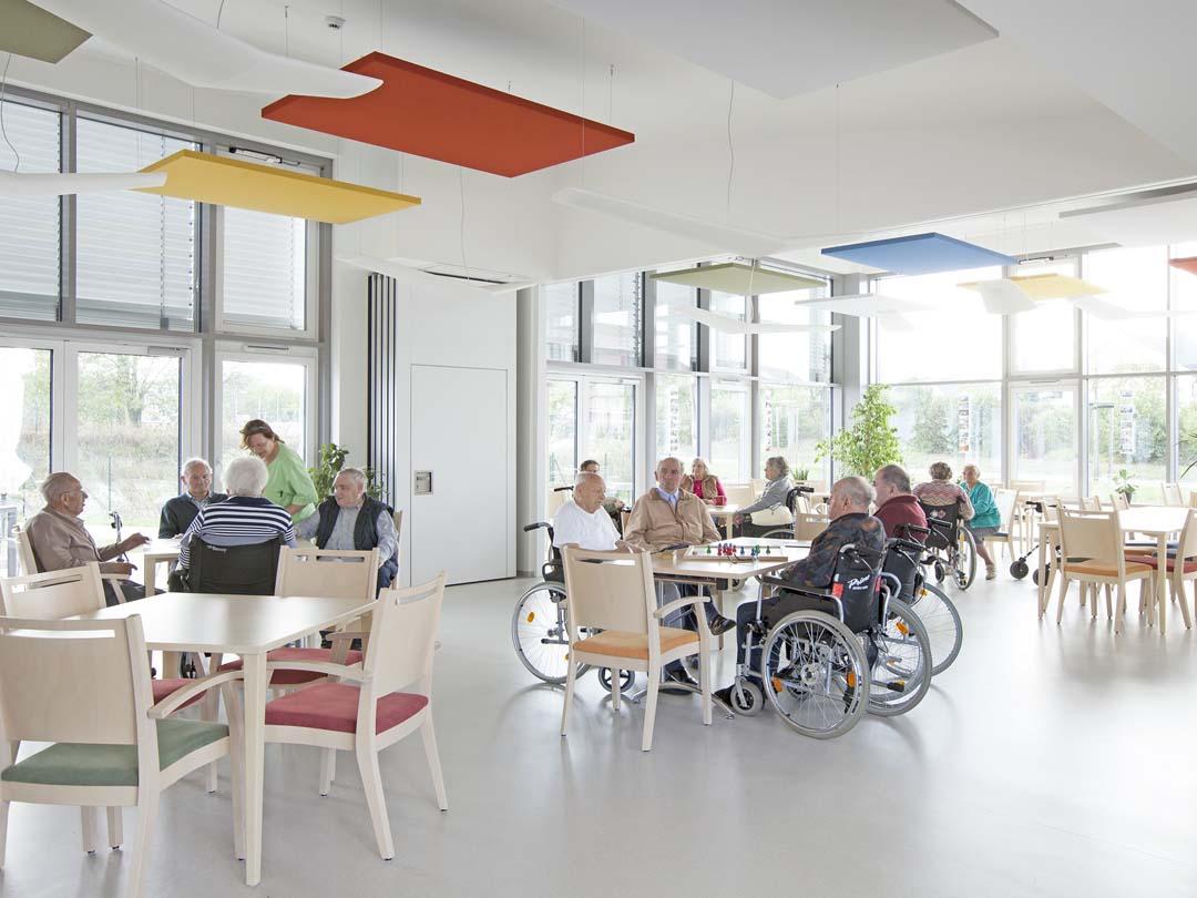 Dieses Bild zeigt das gemütliche Café des AWO Sozialzentrums Markt Erlbach